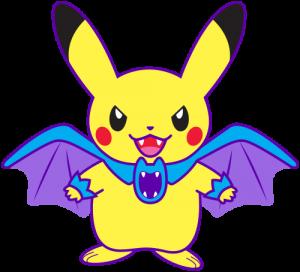 Click to download my 2016 Pokémon Halloween Pikachu and Raichu (pdf).